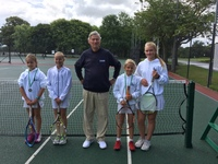 Junior School tennis teams crowned champions at end of year tournaments