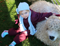 Nursery children mesmerised by 'Living Nativity'