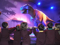 The unforgettable experience of meeting a T-rex