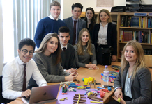 Government and Politics students tackle serious issues with Play-Doh