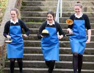 Fifth Year students have 'pancake flipping fun' celebrating Shrove Tuesday
