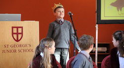 Sandwiches, pets and the origin of a name discussed at inter-house Public Speaking Competition